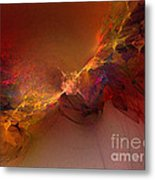 Elemental Force-abstract Art Metal Print