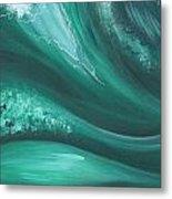 Elemental Sea No 2 Metal Print