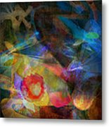 Elements II - Emergence Metal Print