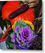 Elements Of Fall Metal Print
