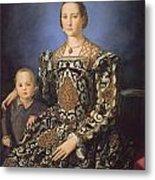 Eleonora Ad Toledo Grand Duchess Of Tuscany Metal Print