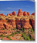 Elephant Canyon Panorama Metal Print