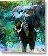Elephant - Featured In Comfortable Art- Wildlife- And Nature Wildlife Groups Metal Print