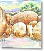 Elephant Rocks State Park II  No C103 Metal Print