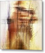 Elevate With Message  Metal Print