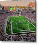 Elevated View Of Gillette Stadium, Home Metal Print
