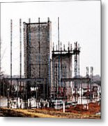 Elevator Going Up Metal Print