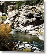 Eleven Mile Canyon - Mountain Stream Metal Print