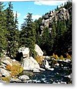 Eleven Mile Canyon Stream Metal Print