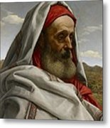 Eliezer Of Damascus Metal Print by William Dyce