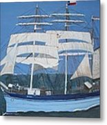 Elissa The Ship Metal Print