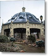 Elitch Carousel Pavilion Metal Print