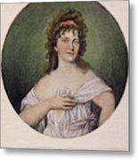 Elizabeth Monroe (1768-1830) Metal Print