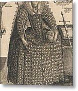 Elizabeth, Queen Of England, C.1603 Metal Print