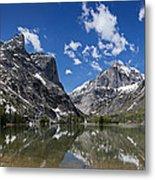 Elk Lake Panorama 1 Metal Print