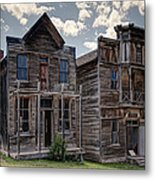 Elkhorn Ghost Town Public Halls - Montana Metal Print