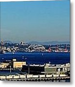 Elliot Bay Panorama Metal Print