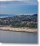 Elliott Bay Marina Metal Print