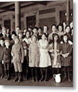 Ellis Island, C1908 Metal Print