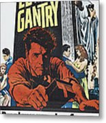 Elmer Gantry, Us Poster Art, Center Metal Print