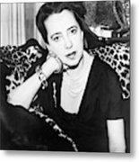 Elsa Schiaparelli (1890-1973) Metal Print