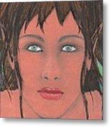 Elven Woman Metal Print