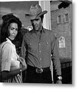 Elvis And Susan Metal Print