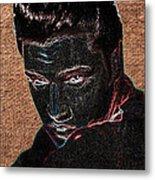 Elvis Art Metal Print