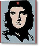 Elvis Che Guevara Viva Las Vegas Metal Print