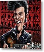Elvis In Memphis Metal Print
