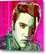 Elvis In Rio Metal Print