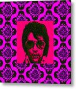 Elvis Presley Window M88 Metal Print