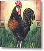 Elvis The Rooster Metal Print
