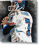 Elway Metal Print by Don Medina
