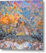 Elysion Fields Metal Print