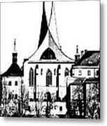 Emauzy - Benedictine Monastery Metal Print
