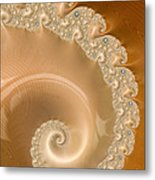Embellished Blond Wood Metal Print
