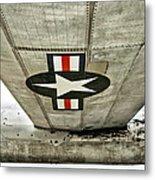 Emblem Underneath Metal Print