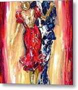 Embrace Of The Dance Metal Print
