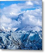 Embraced By Clouds Metal Print