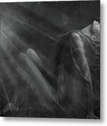 Embraced By The Light.. Metal Print