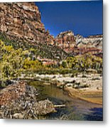 Emeral Pools Trail - Zion Metal Print