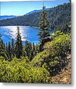 Emerald Bay Lake Tahoe California Metal Print