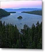 Emerald Bay Sunset Metal Print
