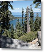 Emerald Bay Vista Metal Print