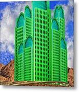 Emerald Desert Palm Springs Metal Print