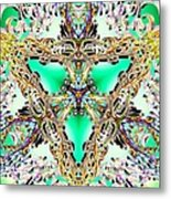 Emerald Key Metal Print