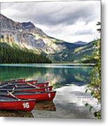 Emerald Lake Yoho National Park Metal Print