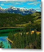 Emerald Lake - Yukon Metal Print