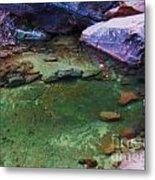 Emerald Pool 3 Metal Print